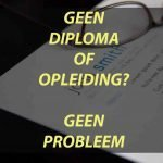 Werken Zonder Diploma En Ervaring