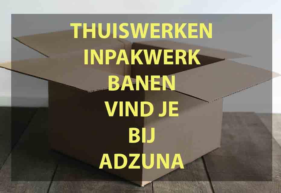 Thuis Werk Inpakken