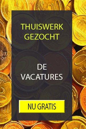Vacatures Thuiswerk Gezocht